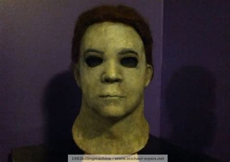 Screen-Used Michael Myers Mask: KNB Halloween H20 Mask